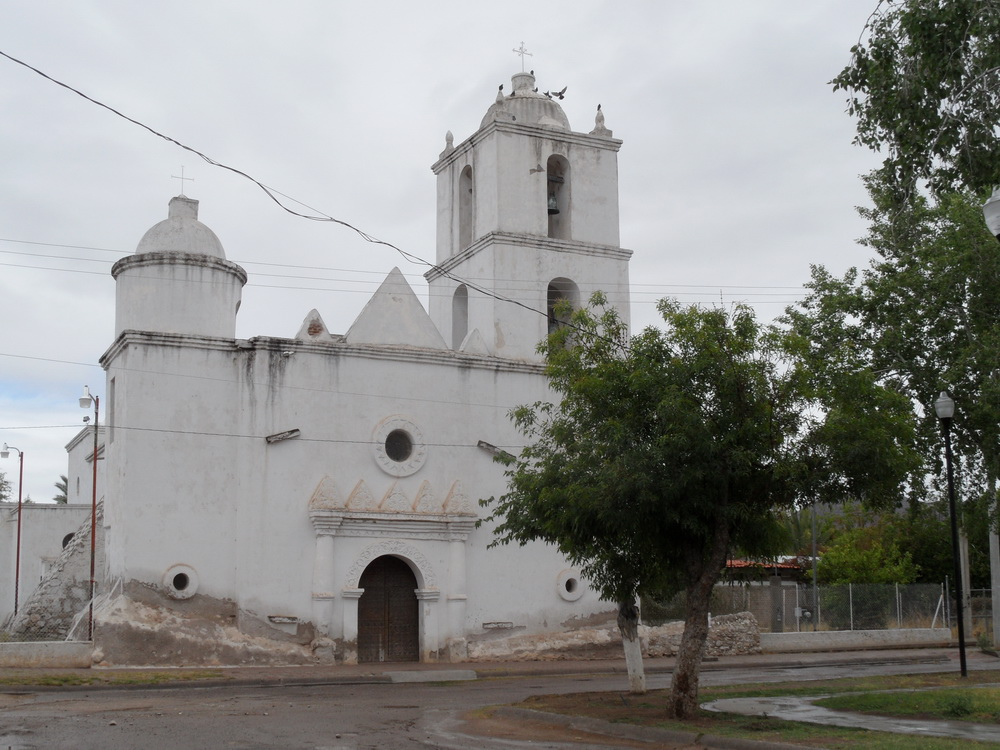 photo of the San Ignacio roof and chapel dome