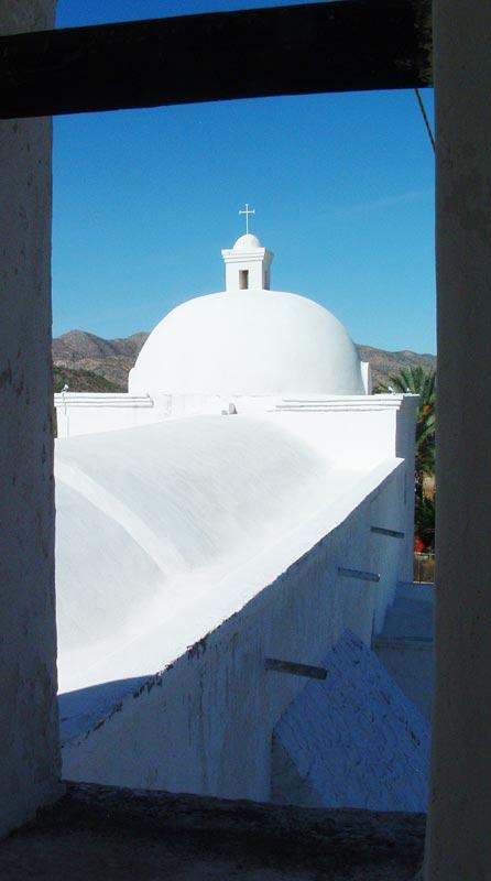 photo of the San Ignacio roof and chapel dome