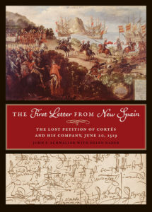 cover of The First Letter from New Spain book